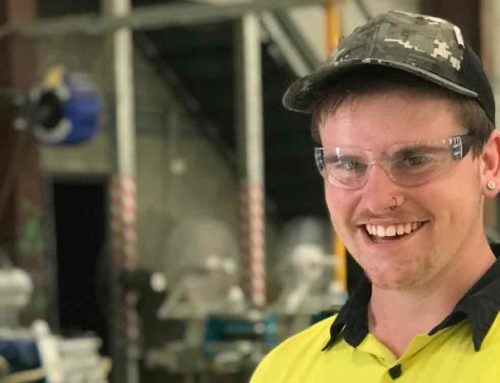 Dylan's journey to employment started with Get Started and SLES